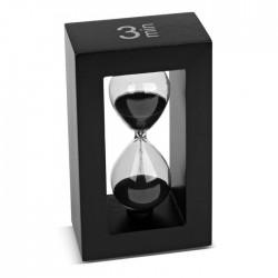Tea-Timer 3 minutes noir
