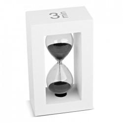 Tea-Timer 3 minutes blanc