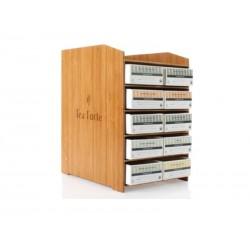 Boîte en bambou pour sachets