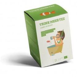 Land in Sicht - Aromatisierter Kräutertee BIO - Trink Meer Tee