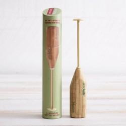 Fouet Matcha électrique en bois