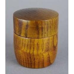 Boîte à Matcha (Natsumé) en bois Cha-Ire
