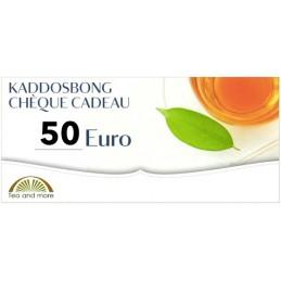 Chèque cadeau 50 Euro