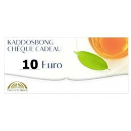Chèque cadeau 10 Euro